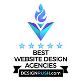 We are recognized as a Top Website Design Company on DesignRush