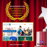 Best Ecommerce website in a Specialised Category – teenvan.com (Nominated)